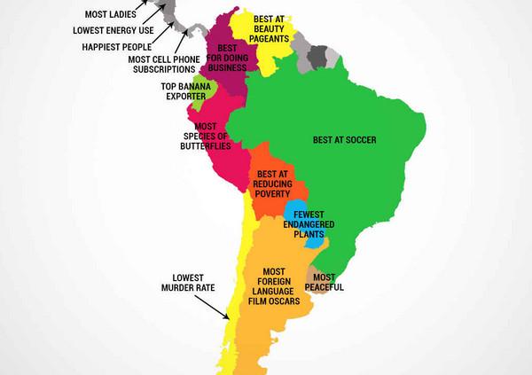 你所不知的拉丁美洲国家