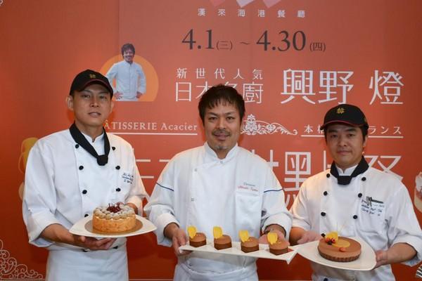 日本人氣主廚來台 7款法式甜點一次吃到飽