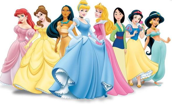 迪士尼公主真人修修脸 这样的我漂亮吗