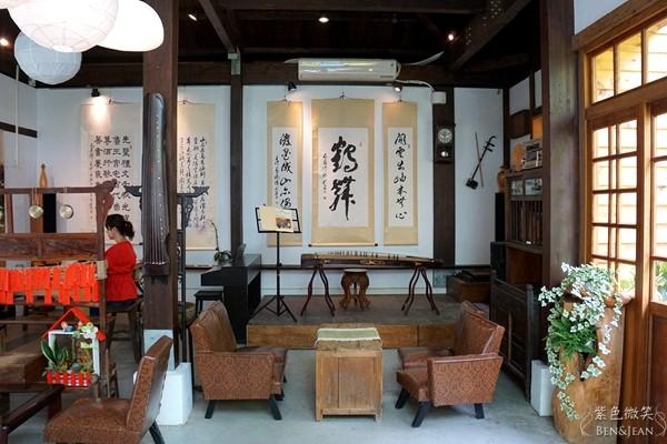 宜兰老屋艺文咖啡馆!中式摆设与西式咖啡的美学碰撞