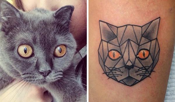 纹身,并分享其中20种不同的可爱款式,每一个都会让爱喵星人的你眼睛为