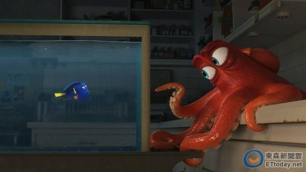《海底总动员2》首张电影预告公开,新角色八爪章鱼登场.