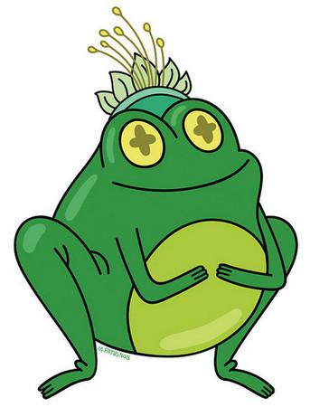 ▲这说好的青蛙变王子咧?不要让蒂安娜不开心!(图/截取自
