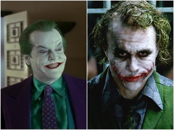杰克尼克森(左)和希斯莱杰都曾经公开表示小丑相当难演.图片
