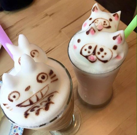 萌度爆表!五间超可爱龙猫下午茶龙猫迷可别错过了