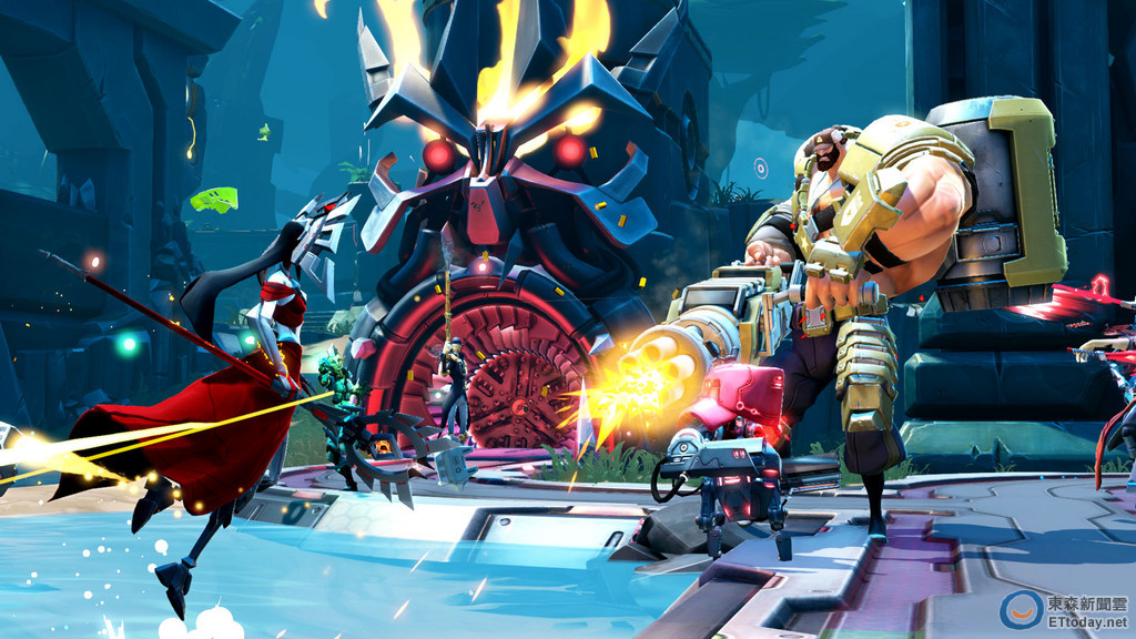 《為戰而生》週末開放封測 明年PS4將優先公測