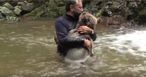 一般人在野外遇到熊的时候