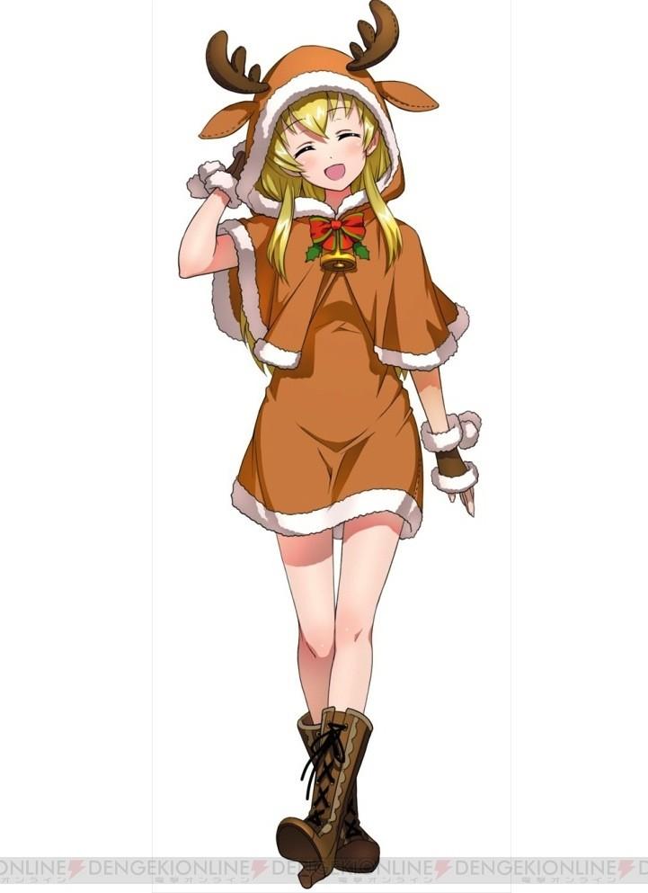 麋鹿萌少女卡通图片
