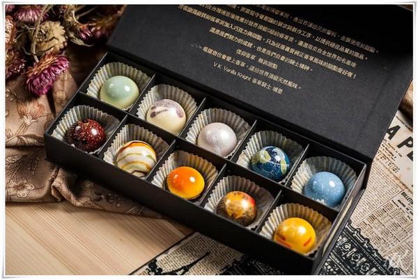 快来收集各大行星!可爱又迷幻的星球巧克力