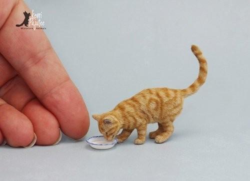 一样是微型小动物的艺术创作