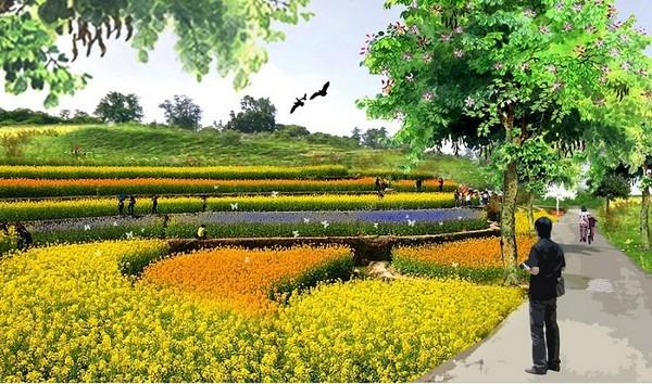 结合周边景点如金狮湖,澄清湖风景区形成绿色廊道,公园内还打算设置花