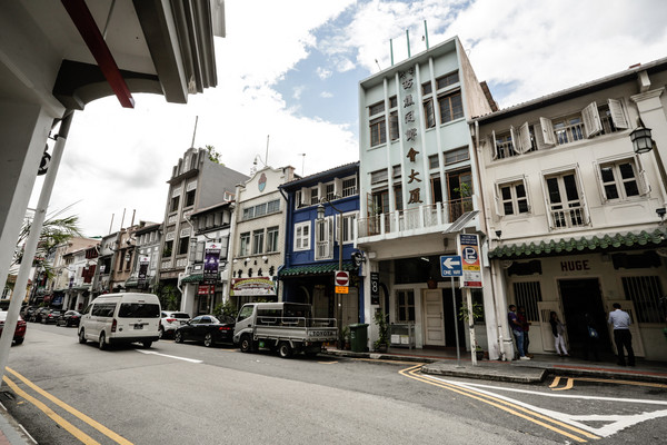 新加坡旅遊-安祥山街景(圖/記者林世文攝)