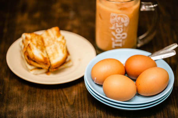 新加坡旅遊-恭錫街、東亞餐室早餐(圖/記者林世文攝)