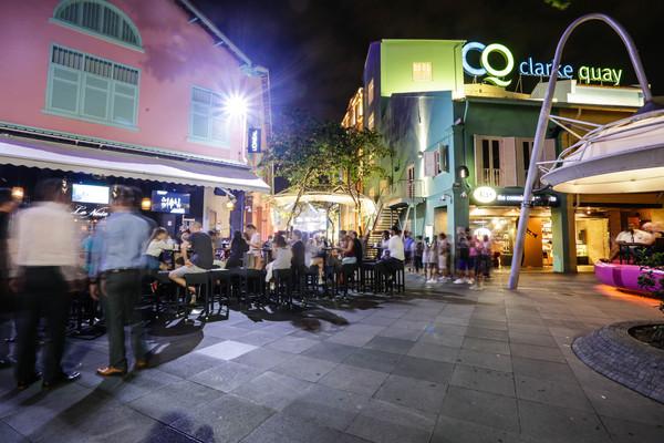 ▲新加坡旅遊-泊船碼頭、克拉碼頭、Roberston碼頭周邊(圖/林世文記者攝)