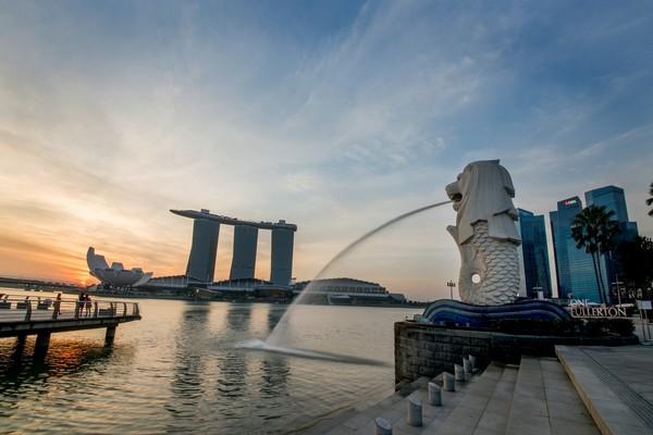 ▲新加坡旅遊 魚尾獅 酷航波音787。(圖/新加坡旅遊局提供)