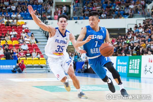 ▲▼瓊斯盃男籃,中華藍對菲律賓,于煥亞。(圖/記者季相儒攝)