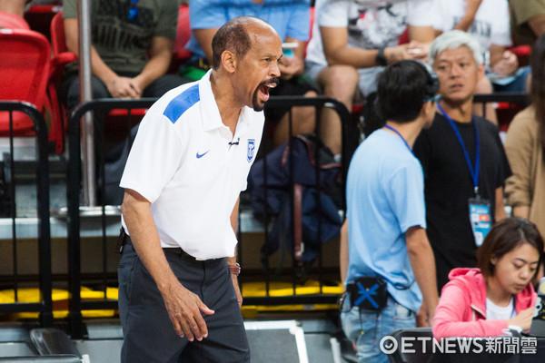 ▲▼瓊斯盃男籃,中華白對菲律賓, 帕克。(圖/記者季相儒攝)