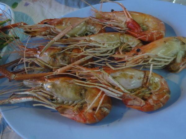 2013年12月3日 11:10   在等待海鲜上桌前,也可以点一份青木瓜沙拉开