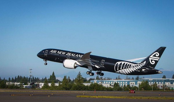 纽航「梦幻客机」波音787-9亮相