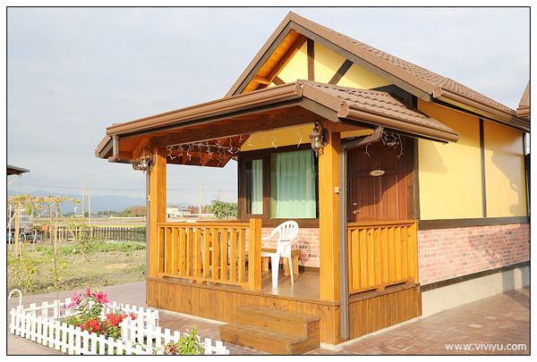 入住就包栋?宜兰欧式花园小木屋