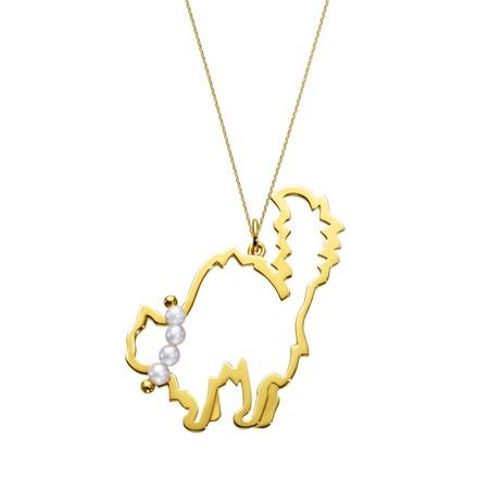 戴珍珠项鍊的动物们 谁是可爱人气王?