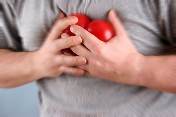 心臟病示意圖。
