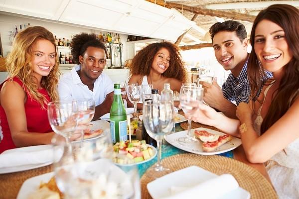 吃飯,聚餐,飲食,朋友(圖/達志/示意圖)