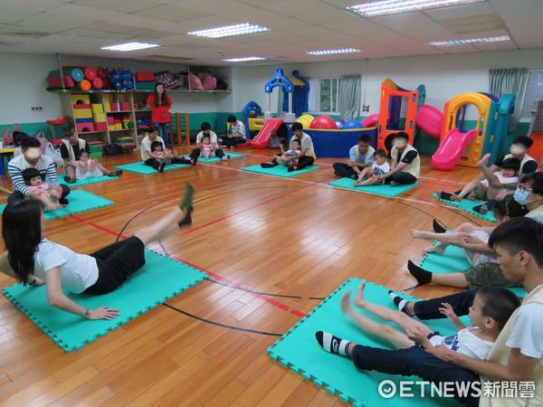 花蓮兒童發展中心於舉辦發展遲緩兒舞蹈活動成果發表會。(圖/門諾社會福利慈善事業基金會提供)