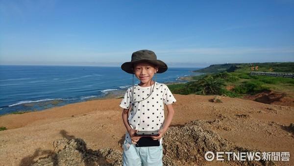▲「幫我繼續看世界」7歲癌童捐眼角膜 用愛助2人重見光明。(圖/奕享爸爸提供)