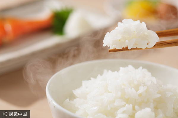 ▲▼飯,吃飯,白飯,米飯。(圖/CFP)