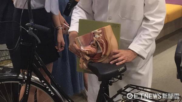 ▲騎單車「狂撞」攝護腺 他PSA指數飆高...就醫檢查竟是癌。(圖/記者嚴云岑攝)