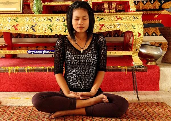 ▲呼吸,冥想,放空,打坐。(圖/取自免費圖庫Pixabay)