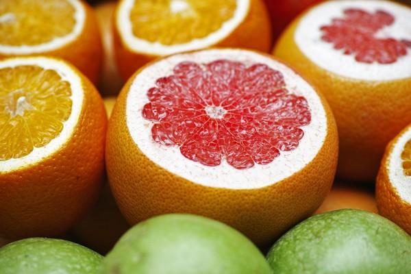 葡萄柚。(圖/Pixabay)
