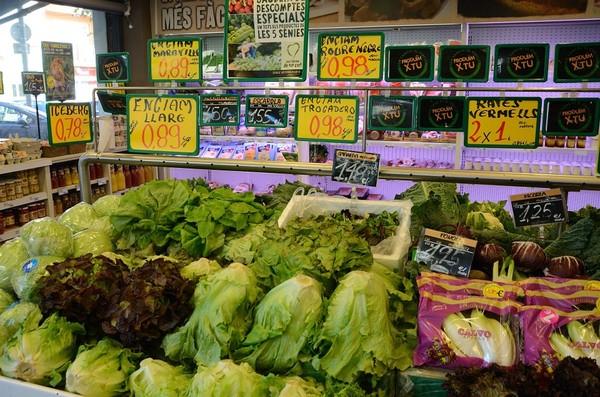 ▲超市,賣場,蔬菜。(圖/取自免費圖庫pixabay)