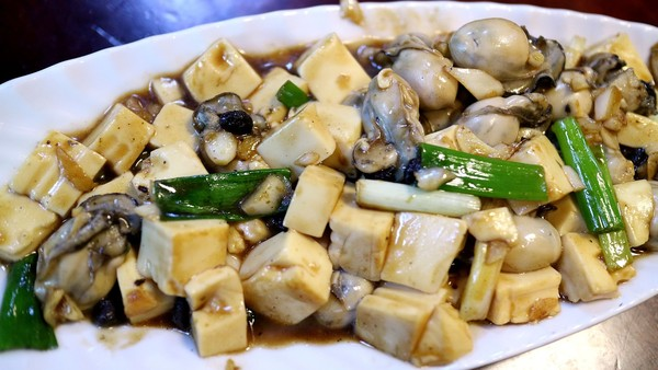 ▲▼豆腐,炸豆腐,臭豆腐,麻婆豆腐,燒豆腐,蚵。(圖/記者謝承恩攝)