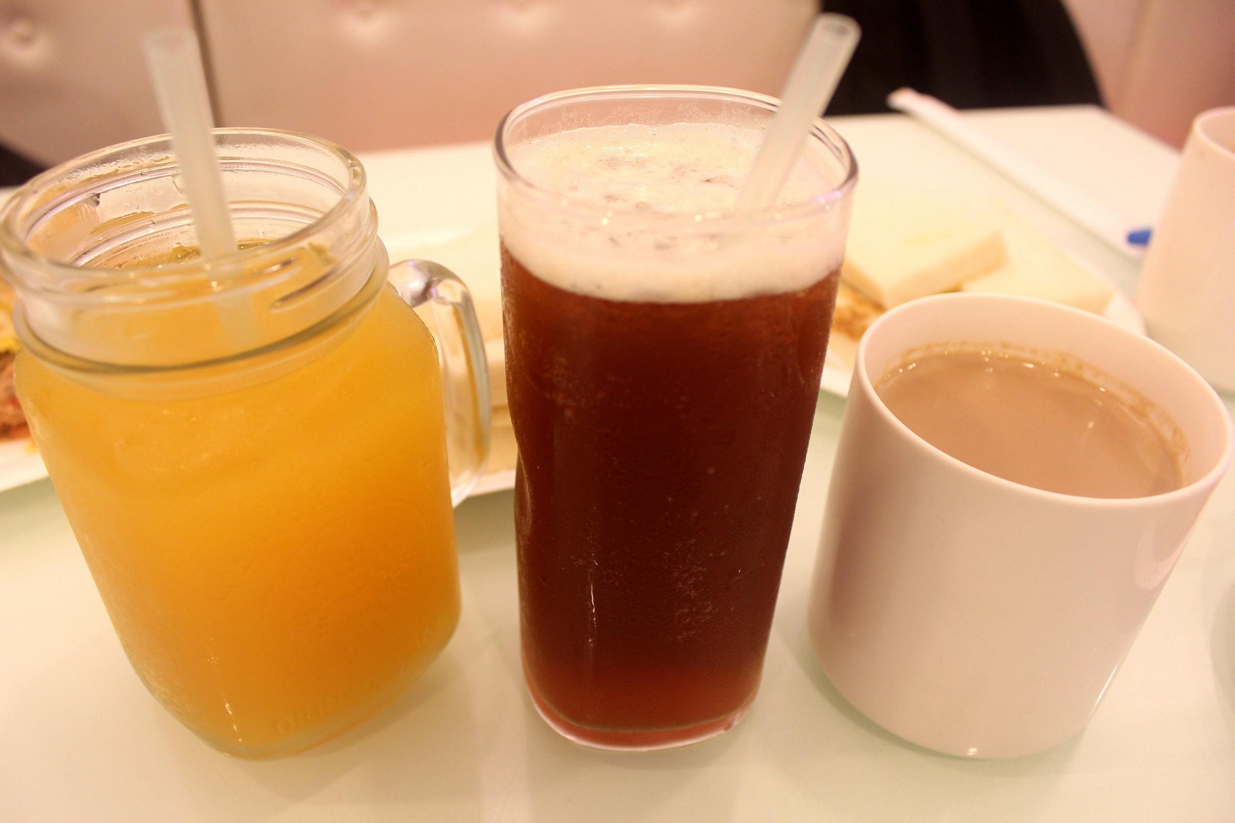 位於文山區的33早餐店,以肉蛋吐司一炮而紅。(圖/實習記者李佳蓉攝)